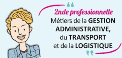 """Résultat de recherche d'images pour """"2nde pro métiers de la gestion administrative, du transport et de la logistique"""""""